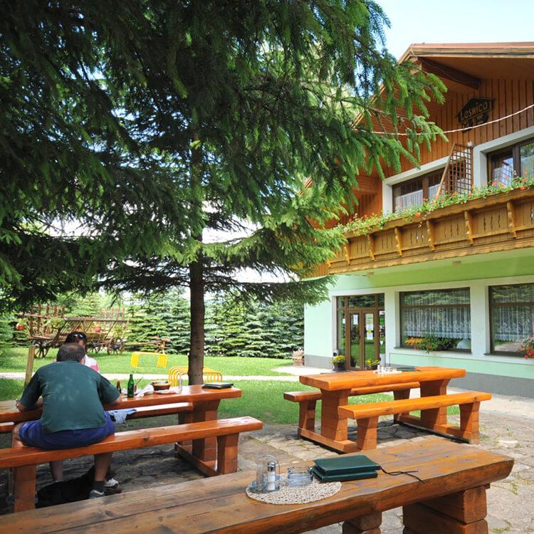 ubytovanie-cingov-lesnica-terasa
